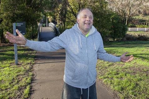 Woolston resident Andrew Meads wants the Hansen Park bins back. Photo: Geoff Sloan