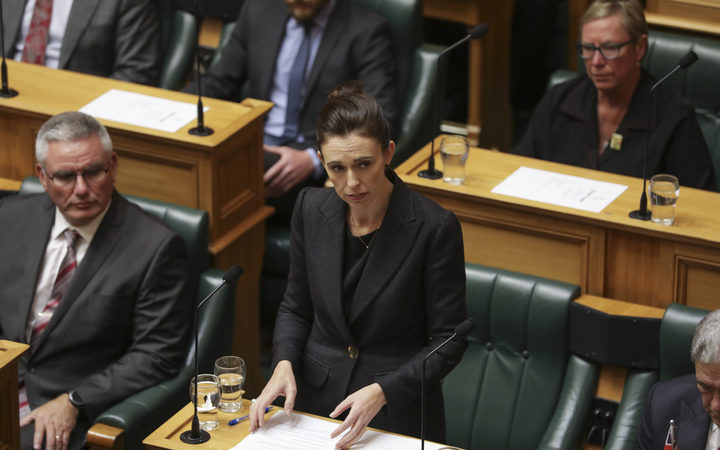 """Prime Minister Jacinda Ardern: """"We are ultimately here because 50 people died and they do not..."""