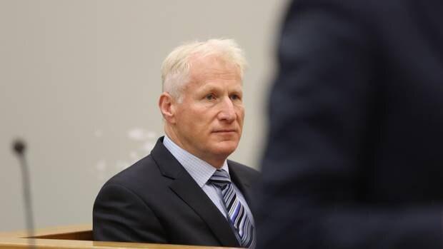阿尔弗雷德基廷今天上午在奥克兰地方法院被判刑。照片:NZME