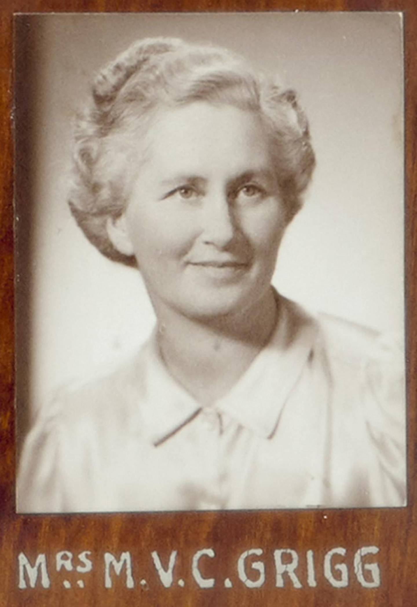 Nicola Grigg's great grandmother and former MP Mary Grigg. Photo: Supplied