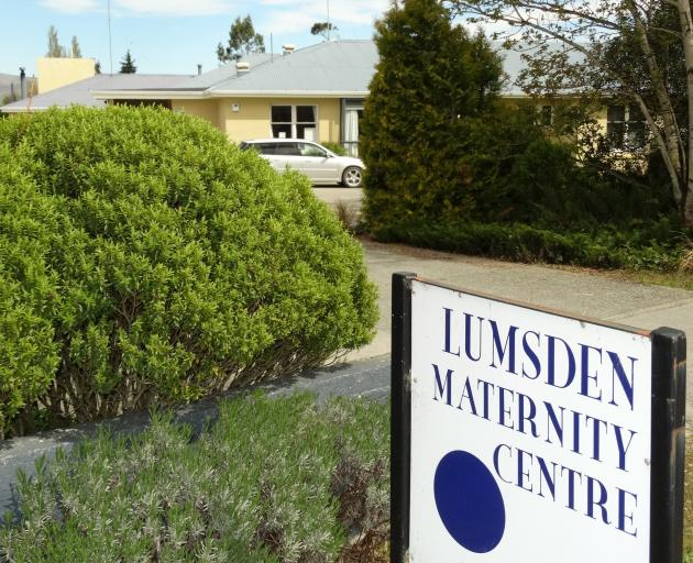 Lumsden is now to be one of five maternal and child hubs. Photo: ODT files