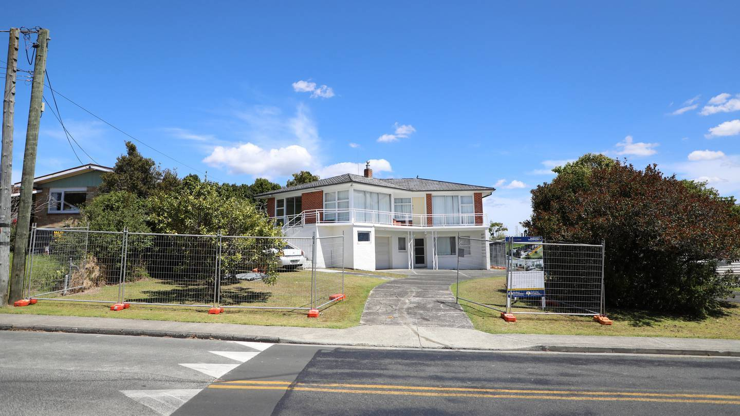 The two-storey West Auckland house was also the set of Westside. Photo: Hayden Woodward