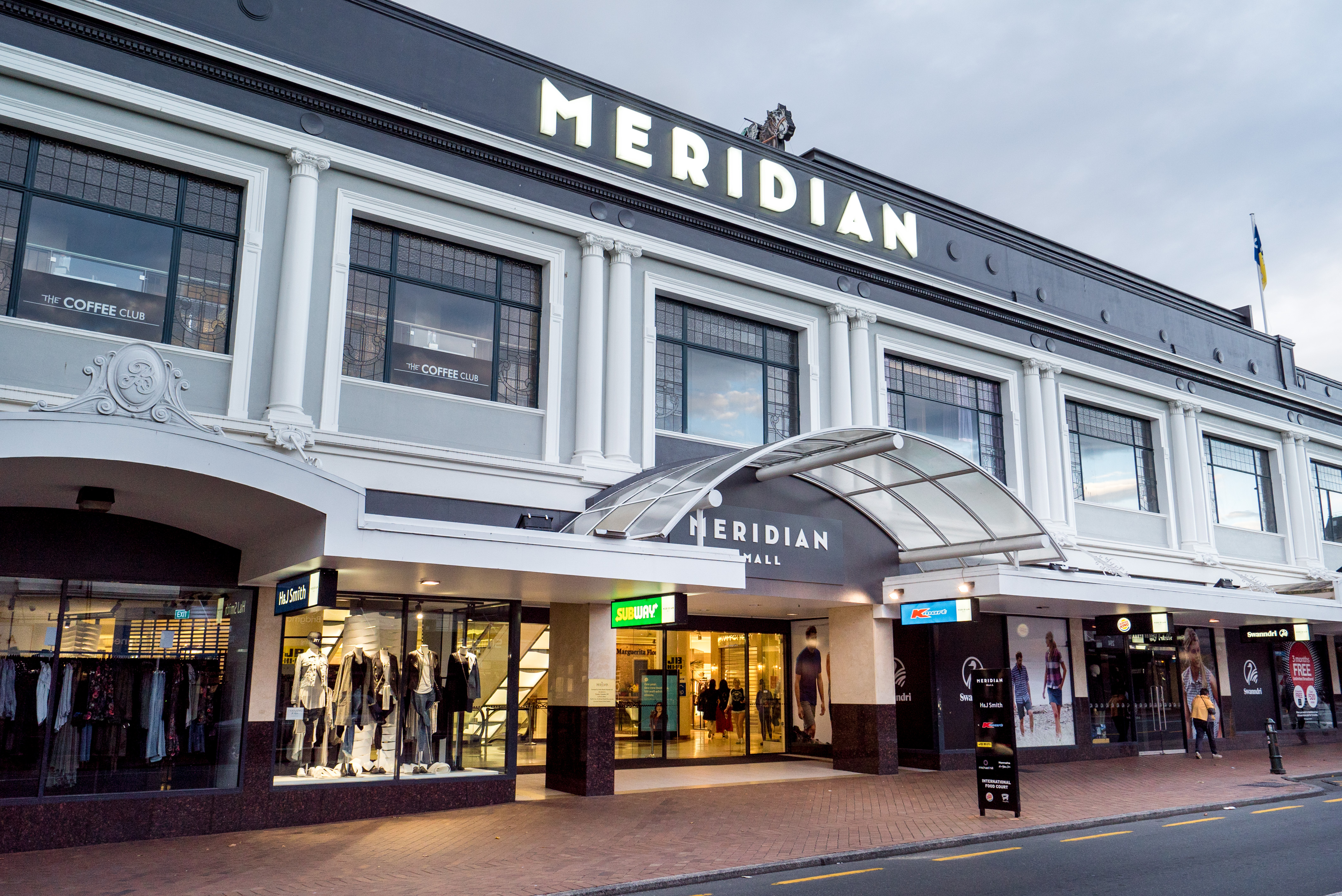 Meridian Mall in George St. Photo: ODT files