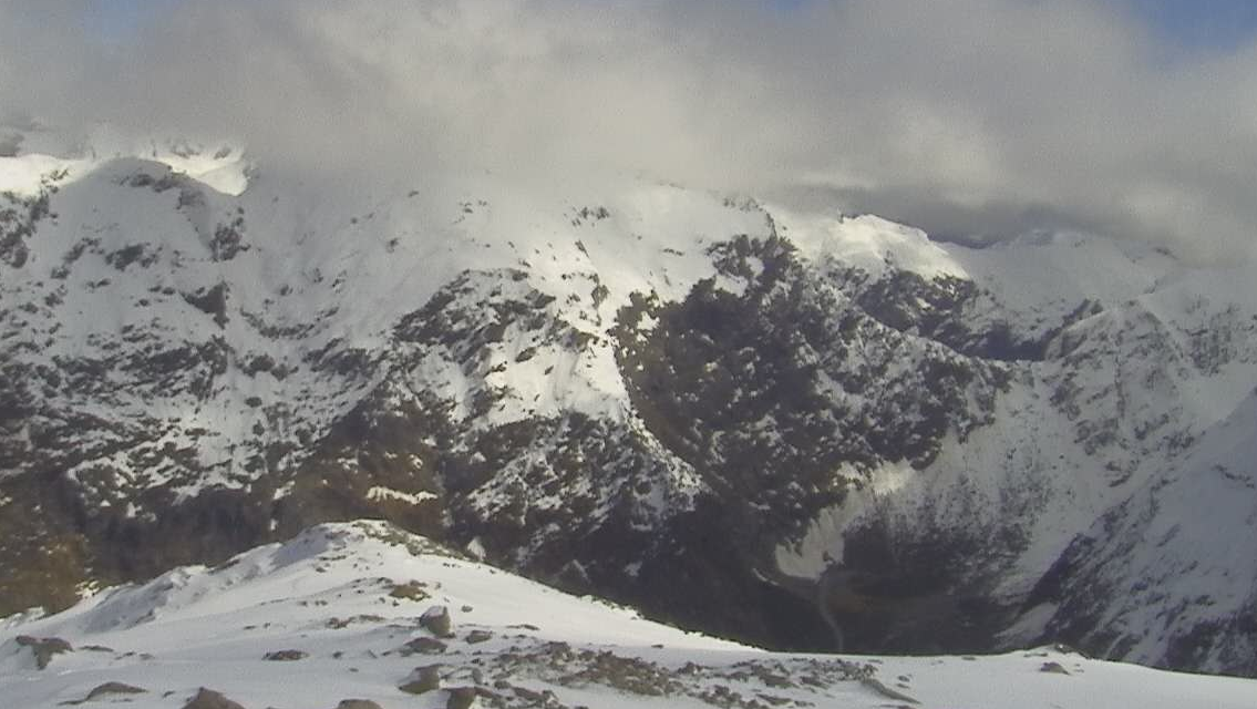 Winter road conditions are in force for the Milford Road area. Photo: NZTA/ Milford Road