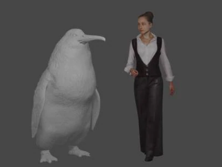 Crossvallia waiparensis was a monster penguin that lived between 66 and 56 million years ago....