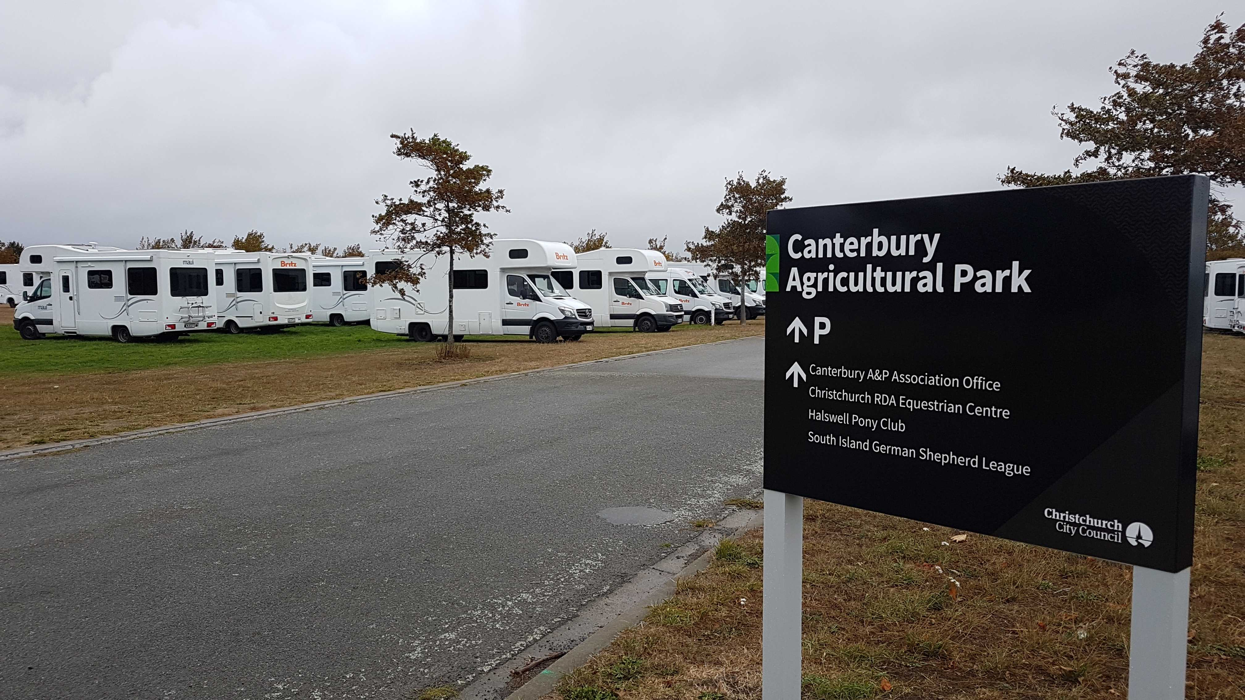 Canterbury Agricultural Park. Photo: Geoff Sloan