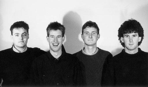The Netherworld Dancing Toys,左起:Nick Simpson,Malcolm Black,Brent Alexander和Graham ......