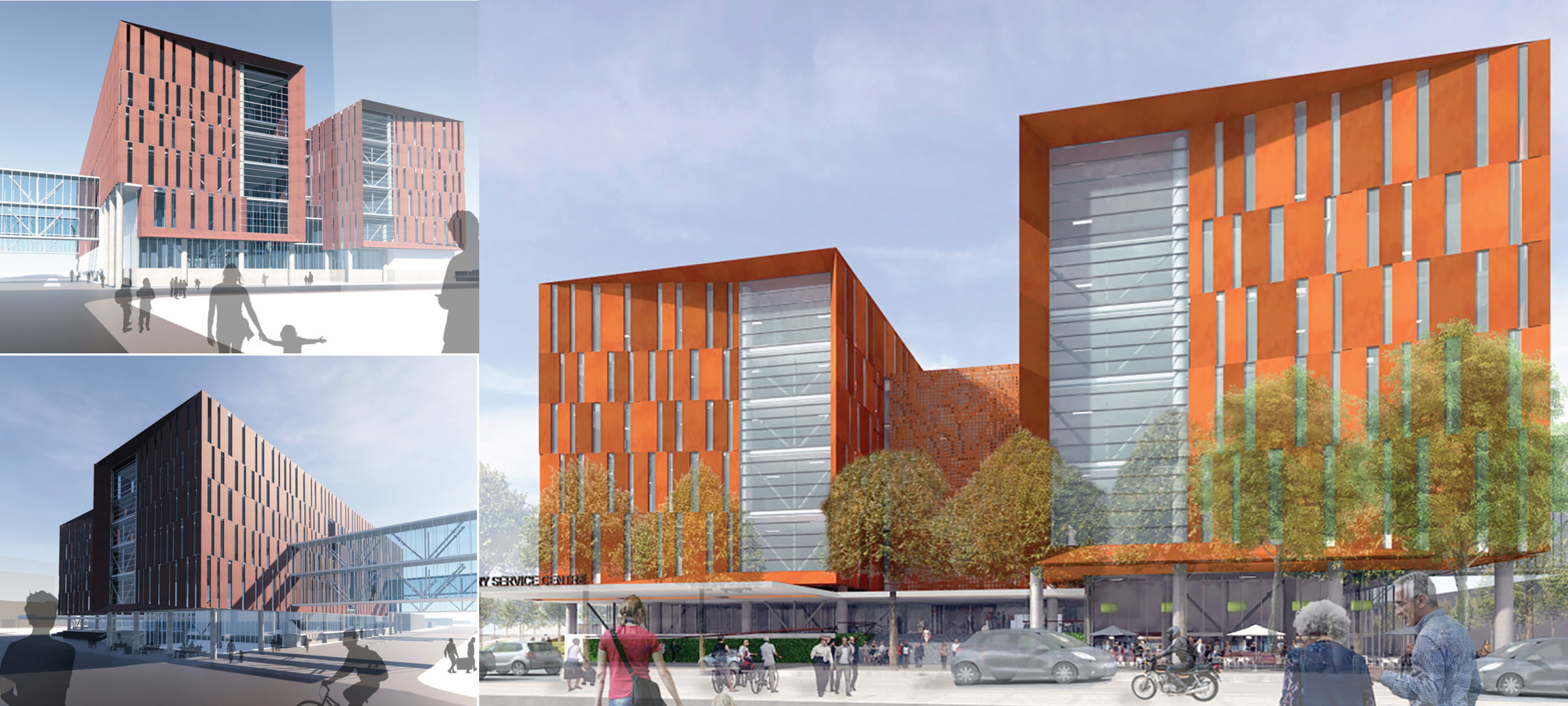 An artist's impression of a possible design for the new Dunedin Hospital outpatient and day...