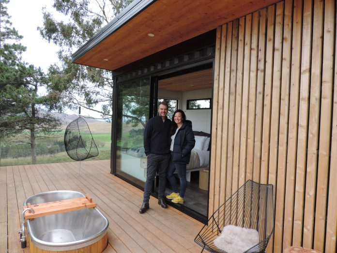 Andy and Liz Hayes are launching their luxury treetop accommodation, Nest Tree Houses, on May 1....