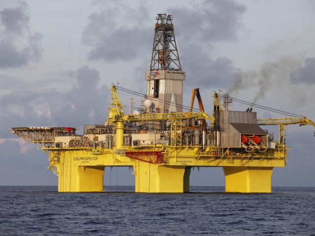 OMV is using the COSL Prospector drilling rig off Taranaki and will relocate it to the South...