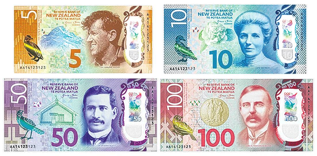 Outstanding New Zealanders on our banknotes. PHOTO: GETTY IMAGES