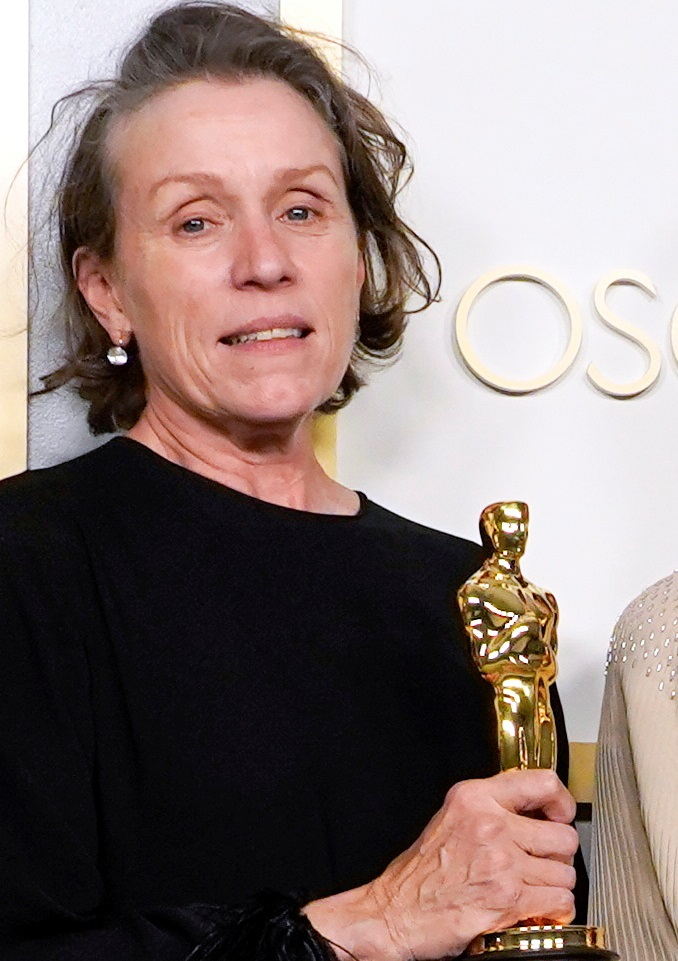 Frances McDormand's third win makes her a member of an elite club that includes Meryl Streep,...