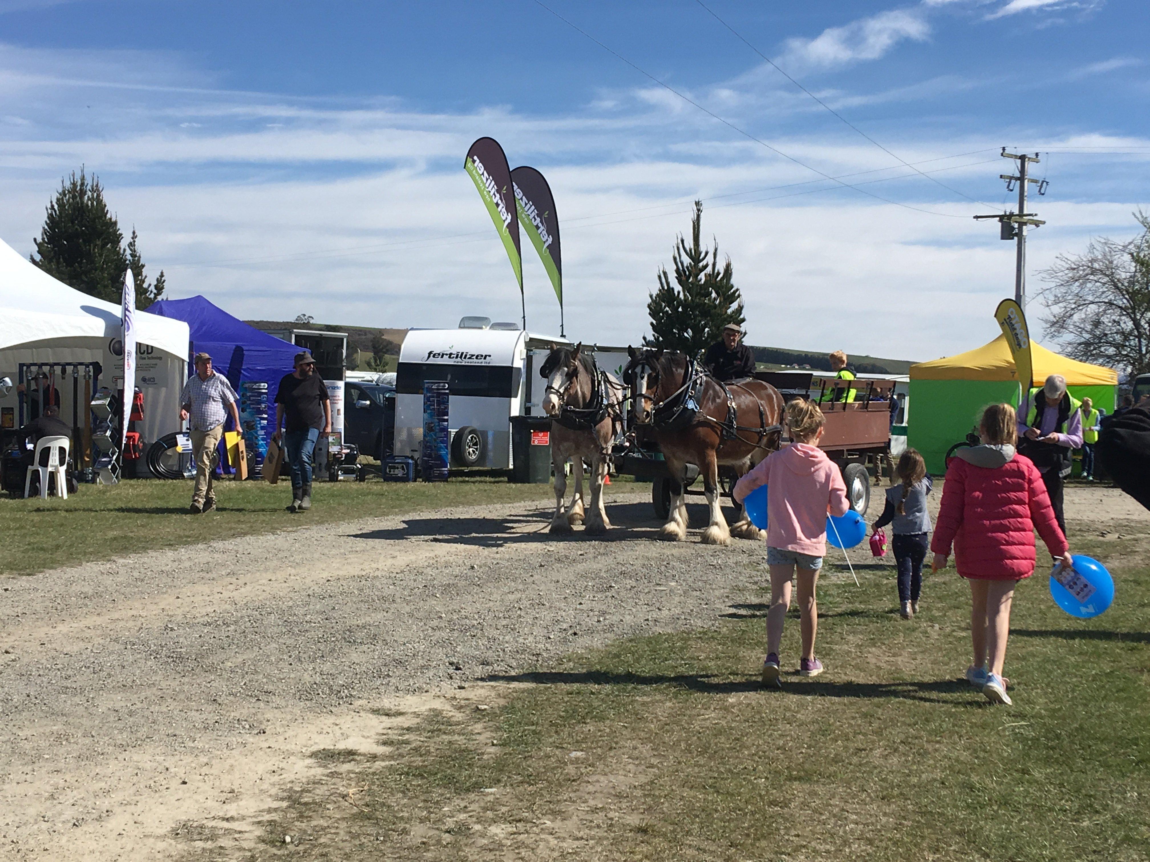 The Otago Field Days in Palmerston last year.