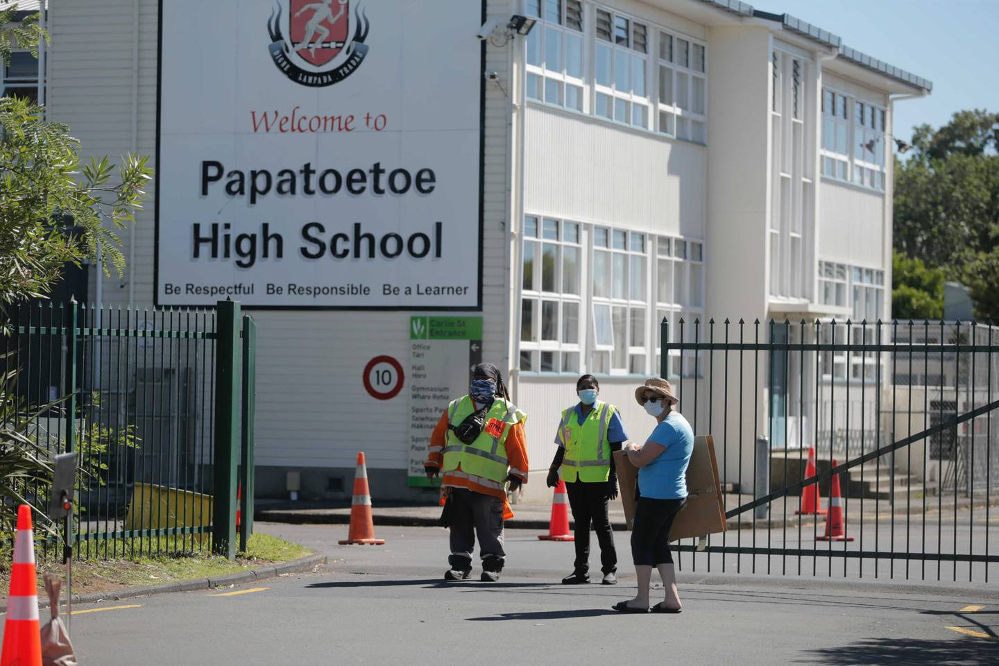 Papatoetoe High school in Auckland. Photo: NZ Herald