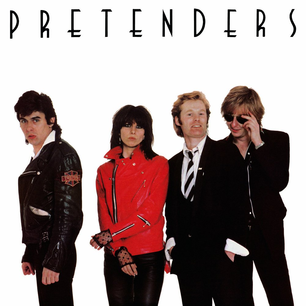 The original Pretenders line-up - Peter Farndon, Chrissie Hynde, Martin Chambers and James...