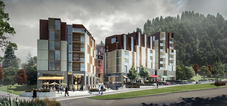 The proposed hotel would be the biggest in Queenstown. Image supplied