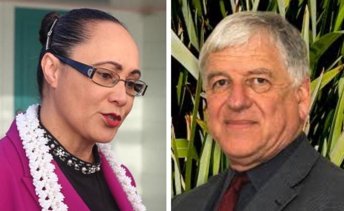 Jenny Salesa and David Matthews Photo: RNZ / CCS Disability Action