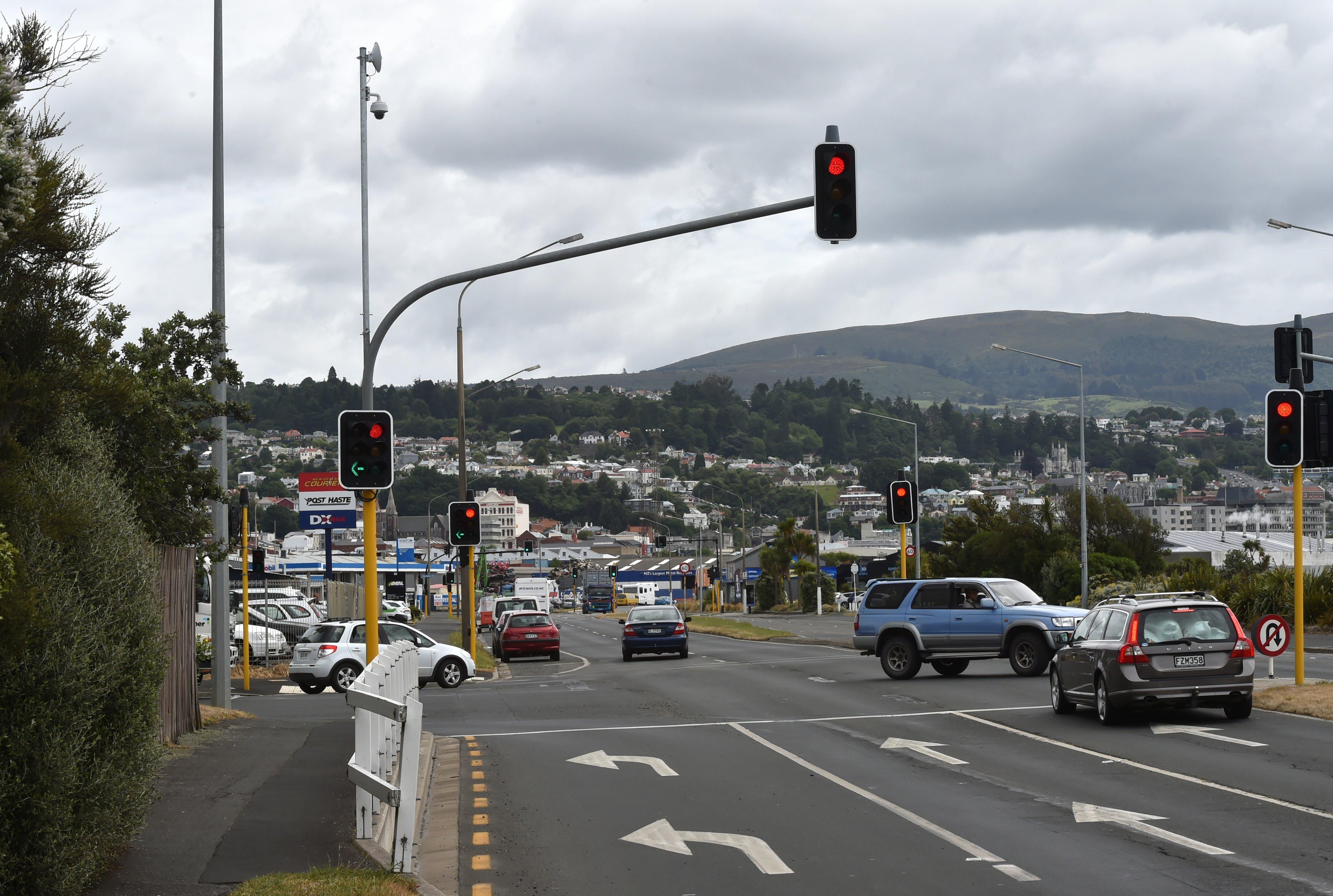 City intersection cameras setup