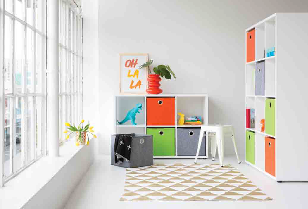 Cube units are the perfect storage solution, and also allow you to display your favourite objects...