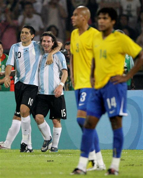 Olympics Messi Victorious Over Ronaldinho Otago Daily Times Online News