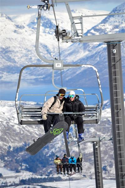 Swept Off Your Feet On A Chair Lift Otago Daily Times