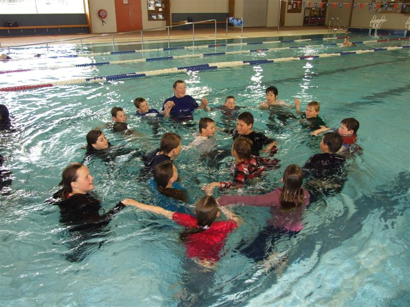 Swimming Pool Clothing : Reality pe pupils learn to swim in their clothes otago