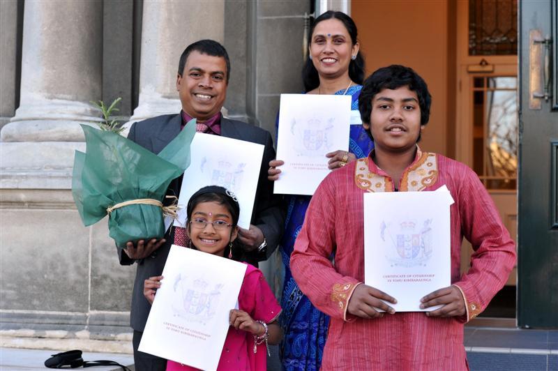 Peaceful Dunedin suits new citizens