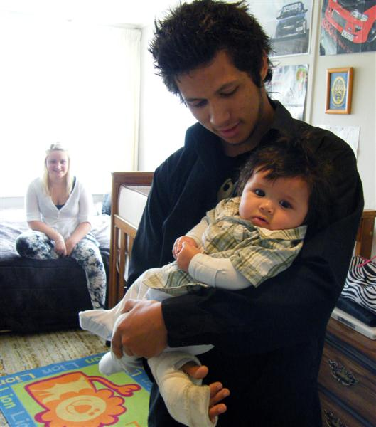 Baby brings new maturity to teenage dad | Otago Daily ...