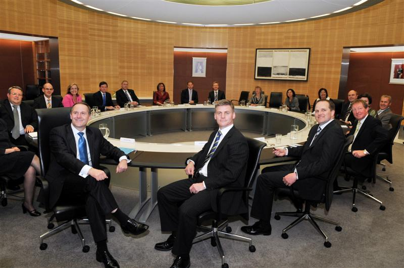 First Cabinet meeting for Key   Otago Daily Times Online News