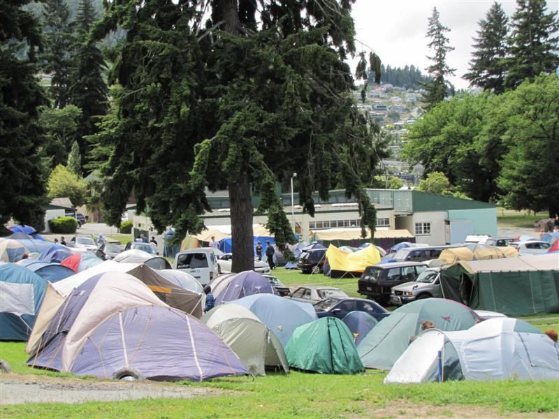 Camp Area To Remain Vacant