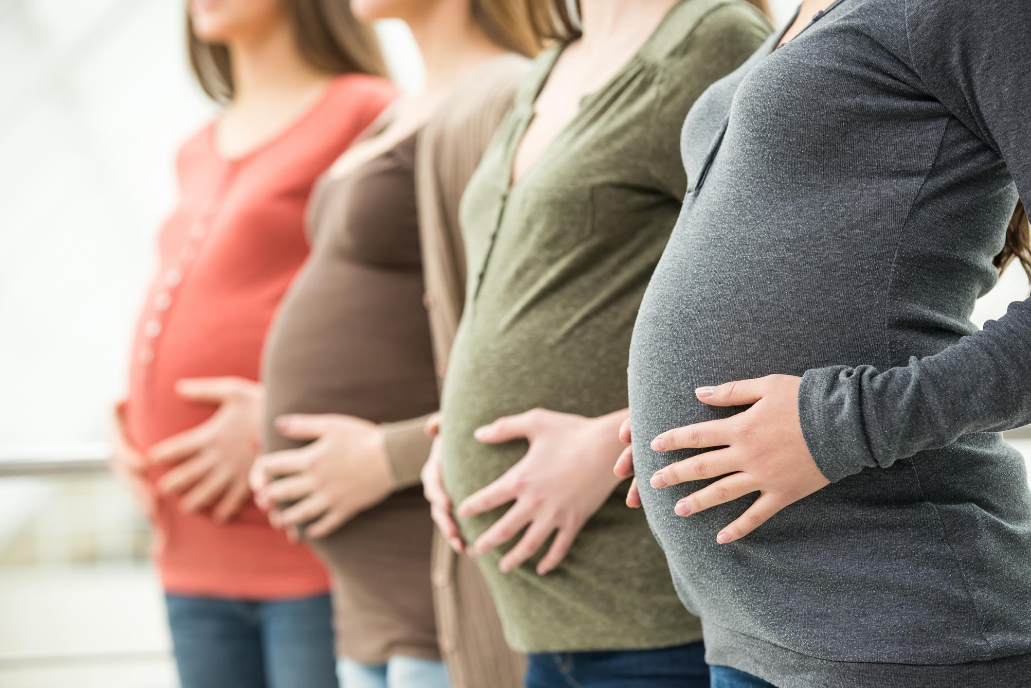 Фото беременный девушки
