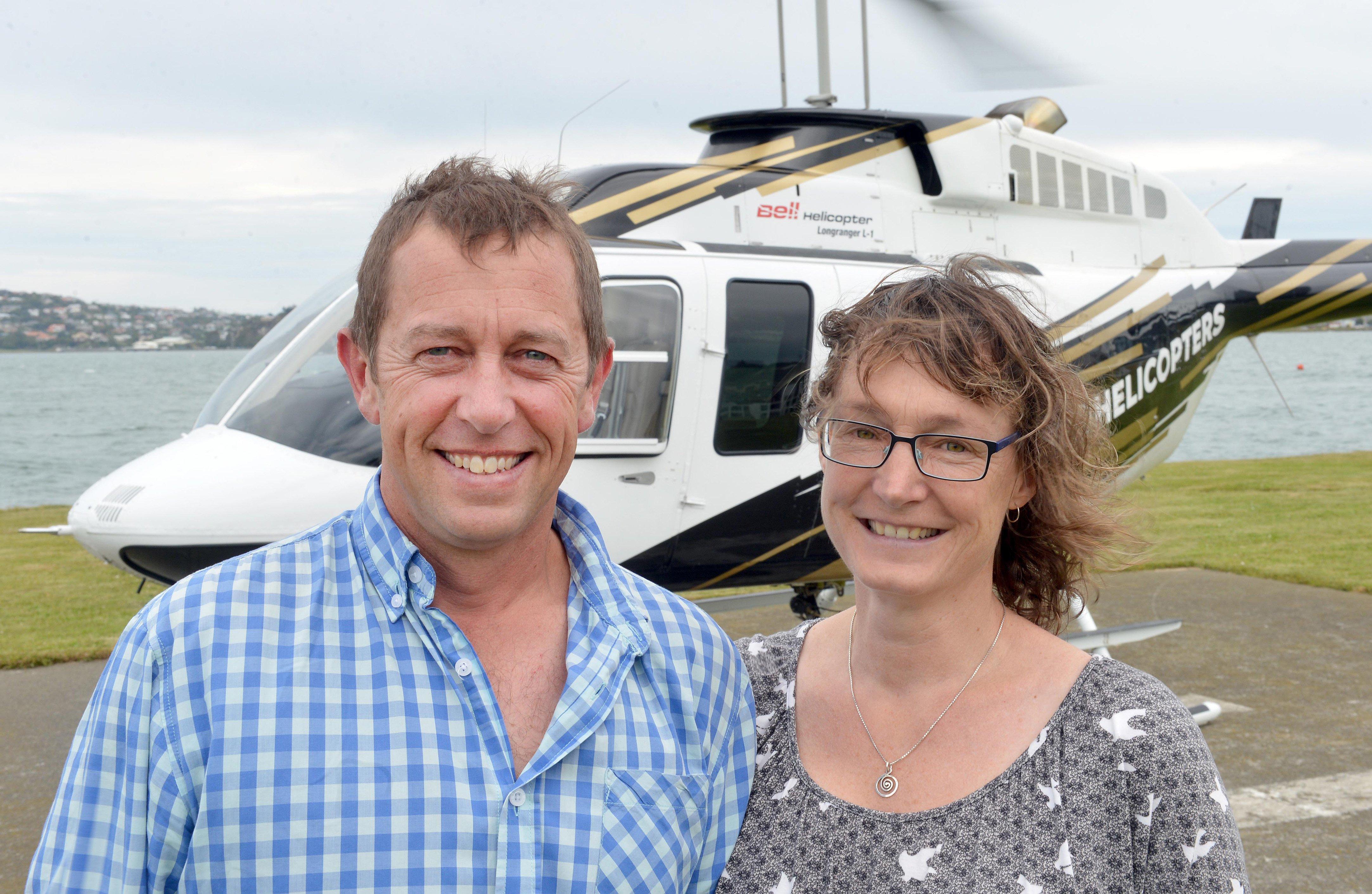 Chopper pilot flying safer skies