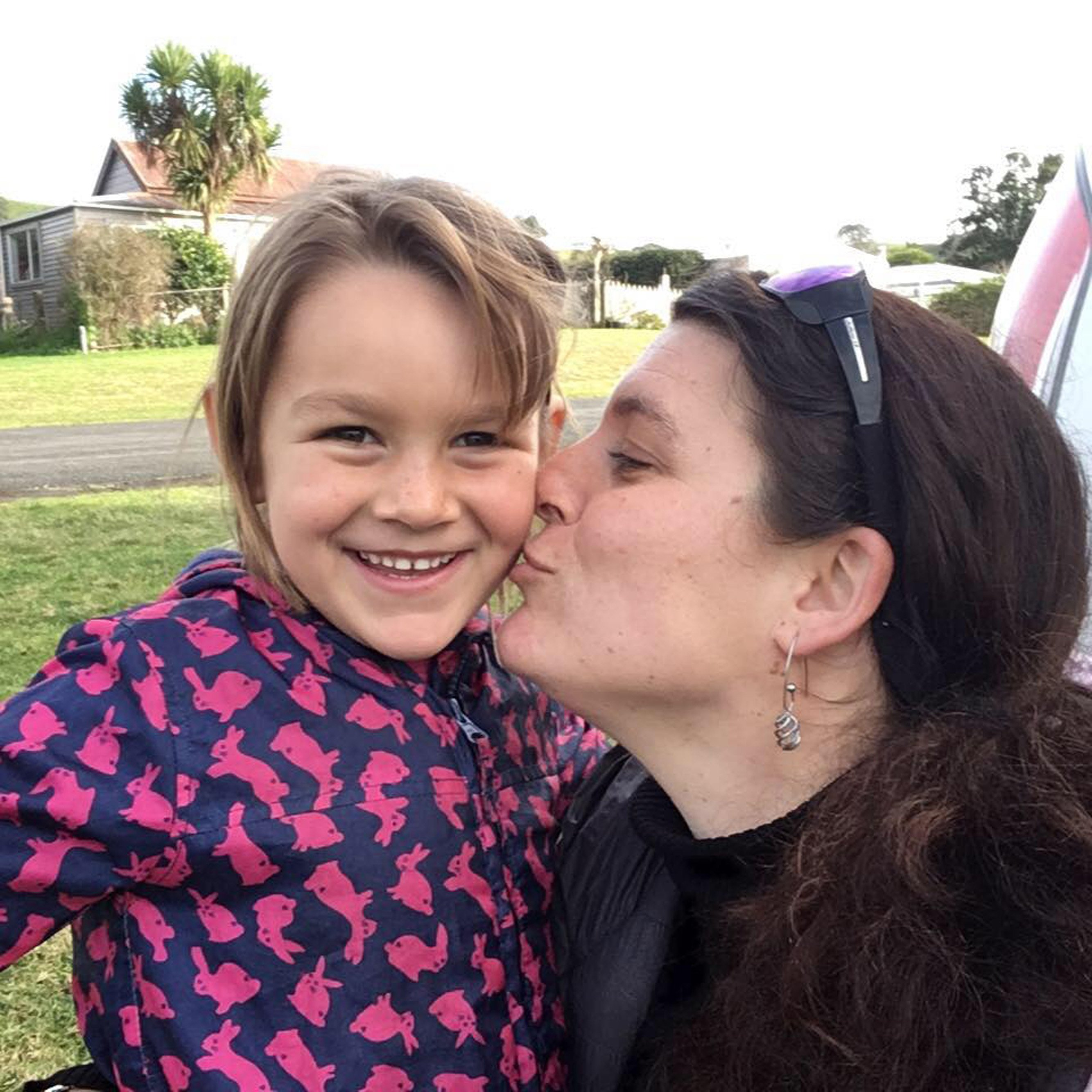 Langdon girl returns to NZ with her mother