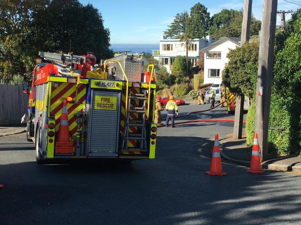 Gas leak in central Dunedin