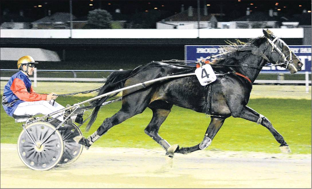 Trotter Dream Big stretches out on the way to landing Matthew Williamson his 600th career driving...