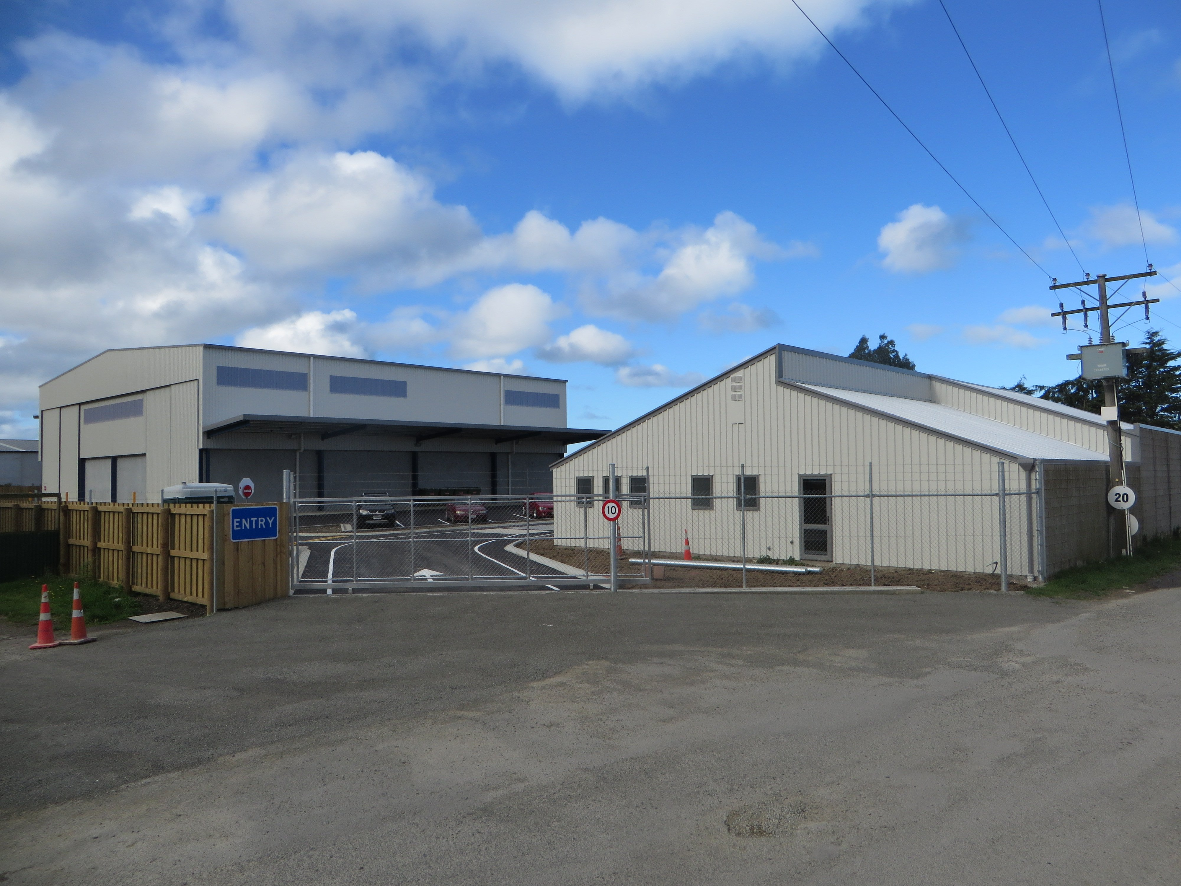 The Waste Management NZ refuse transfer station in Industrial Place, Oamaru. Photo: ODT.