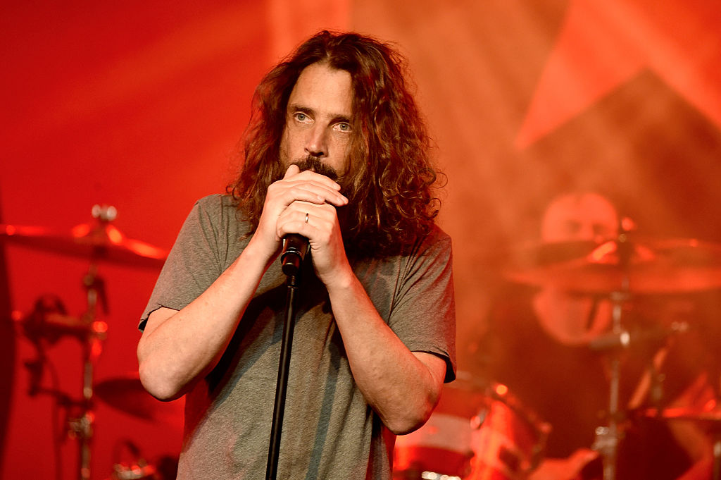 Chris Cornell. Photo Getty