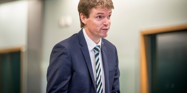 Colin Craig appeared in the High Court in Auckland. Photo: Michael Craig