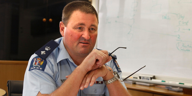Northland district commander Superintendent Russell Le Prou. Photo: NZ Herald