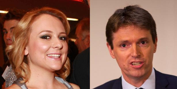 Rachel MacGregor and Colin Craig. Photo: NZ Herald/supplied