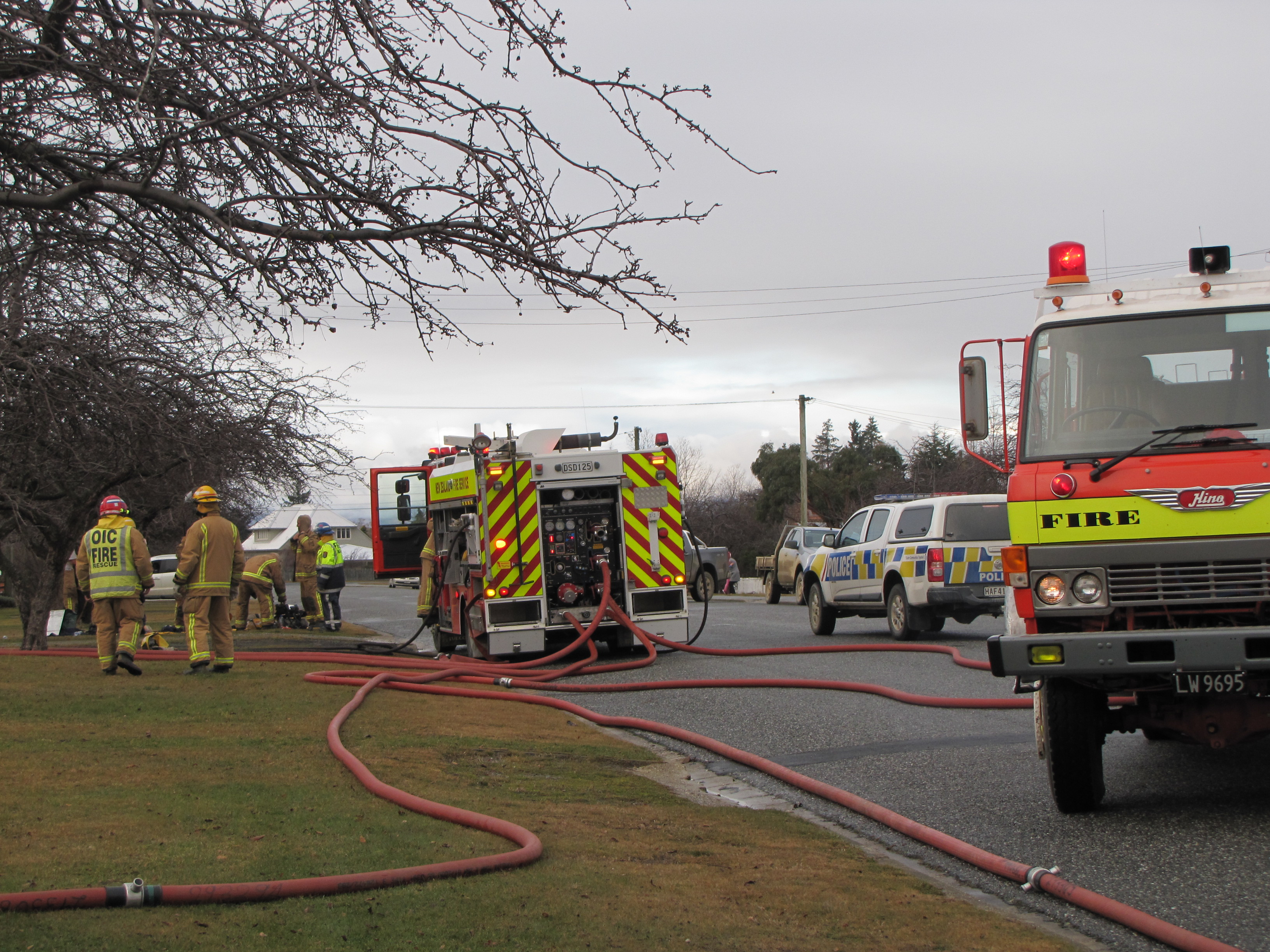 Severe fire damages Ranfurly home