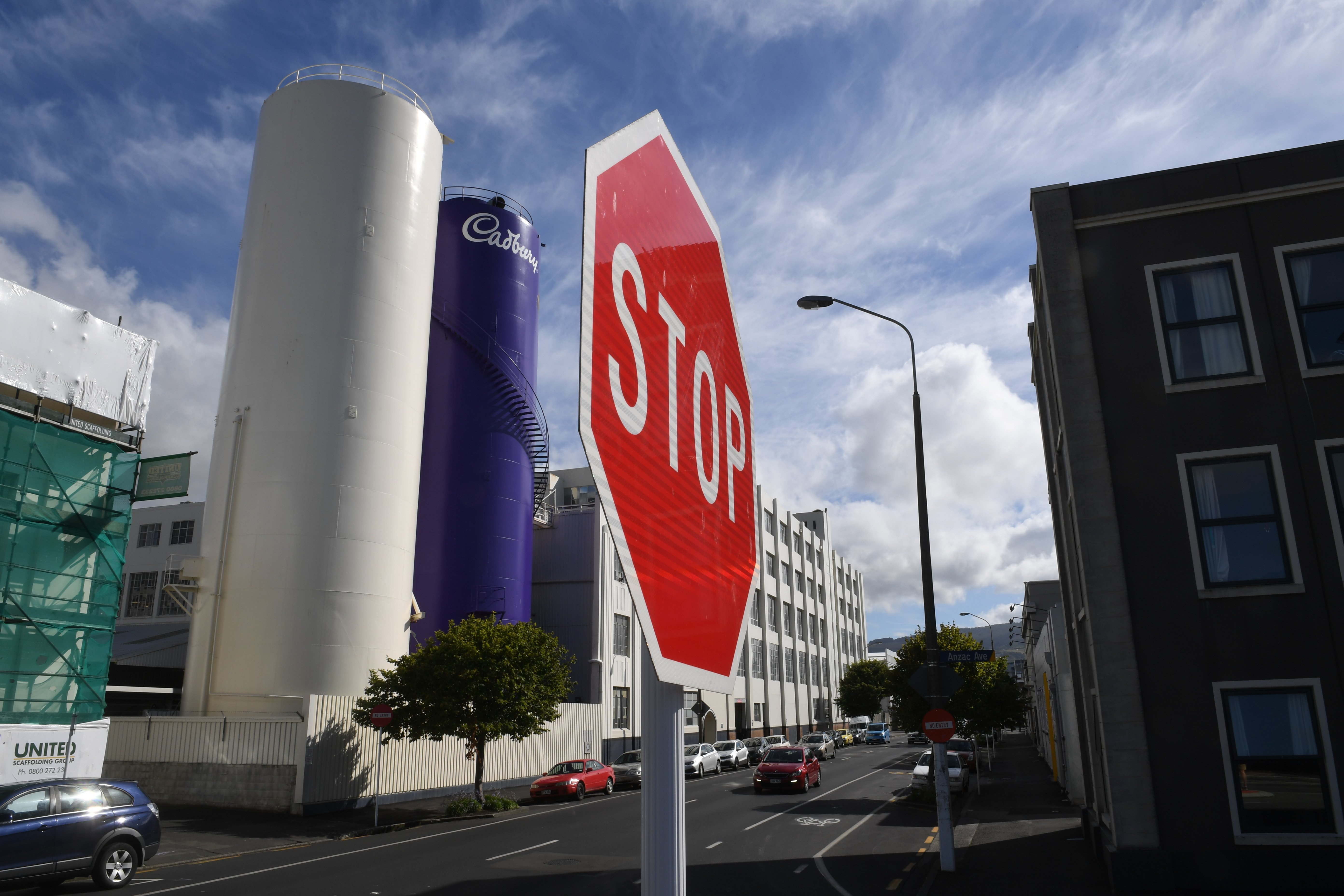 The public have been pitching in the try and save part of the factory. Photo: ODT file