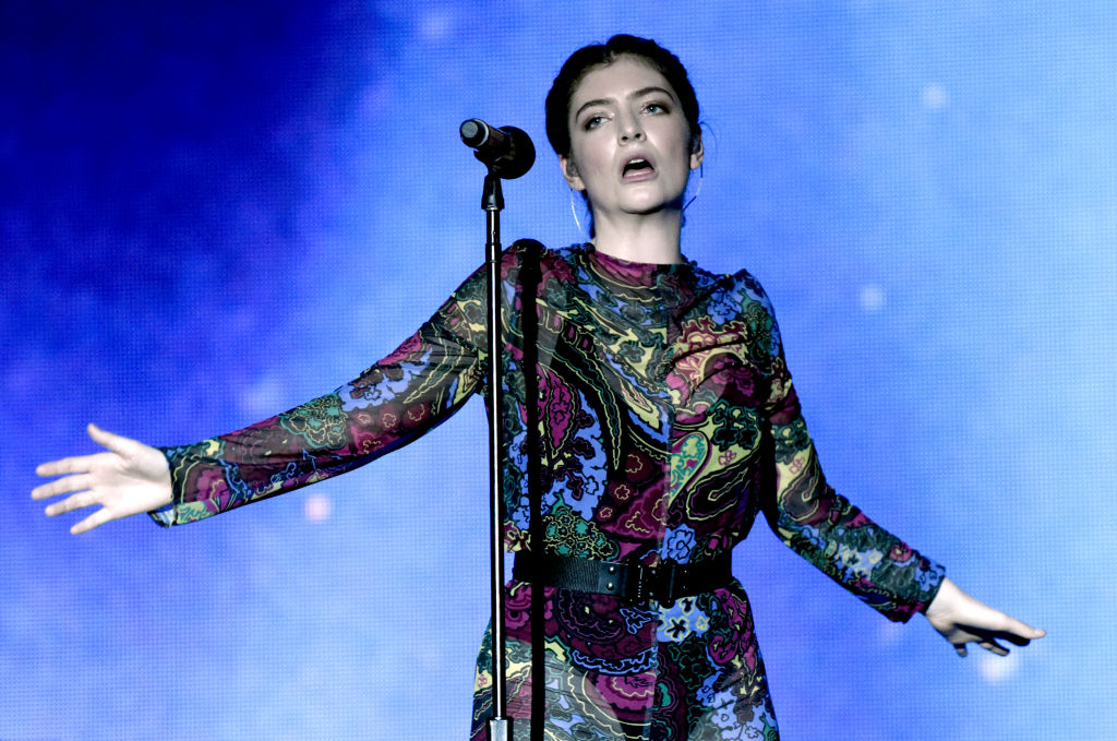 Lorde will perform in Dunedin in November. Photo Getty