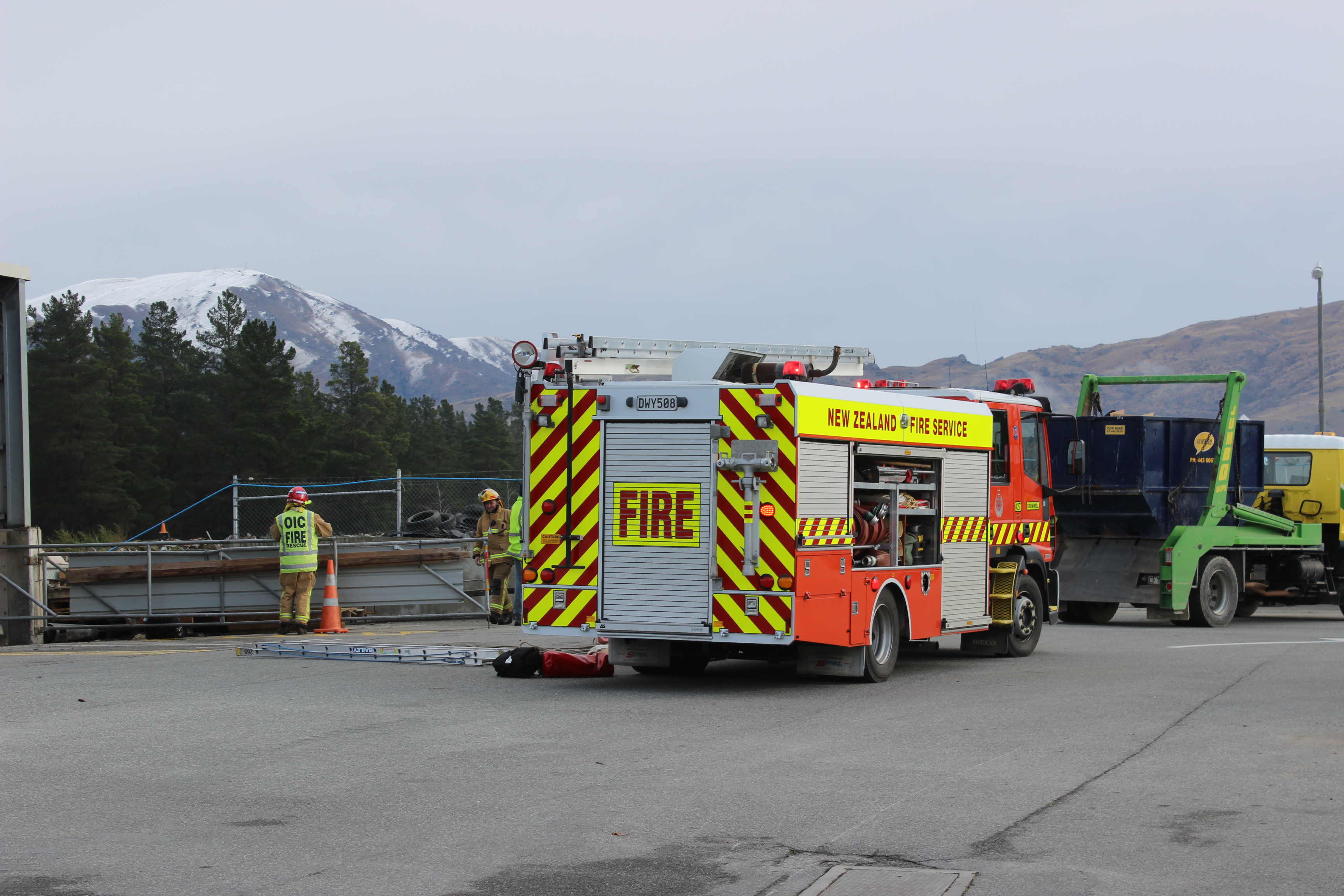Man airlifted after Cromwell pit fall