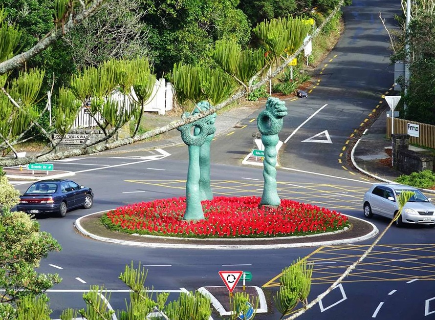NZ roundabout named one of world's best