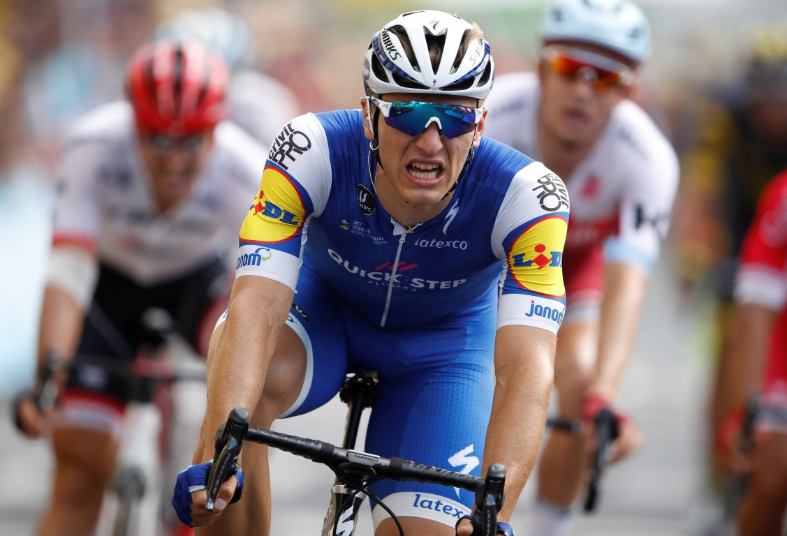 Tour de France: Marcel Kittel collects third win in seventh stage