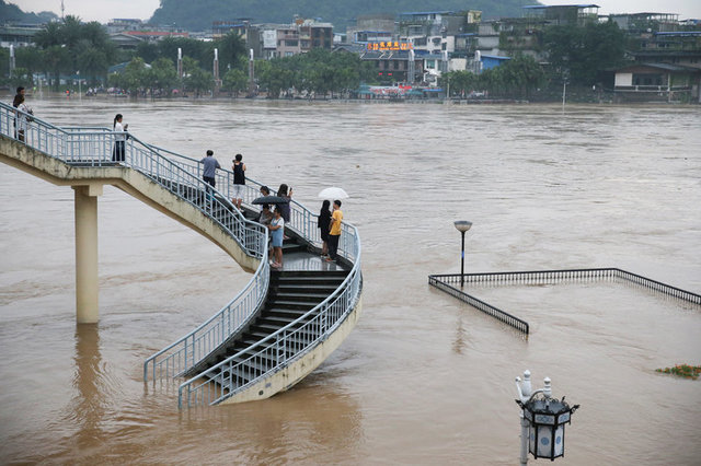 Image result for flood in china