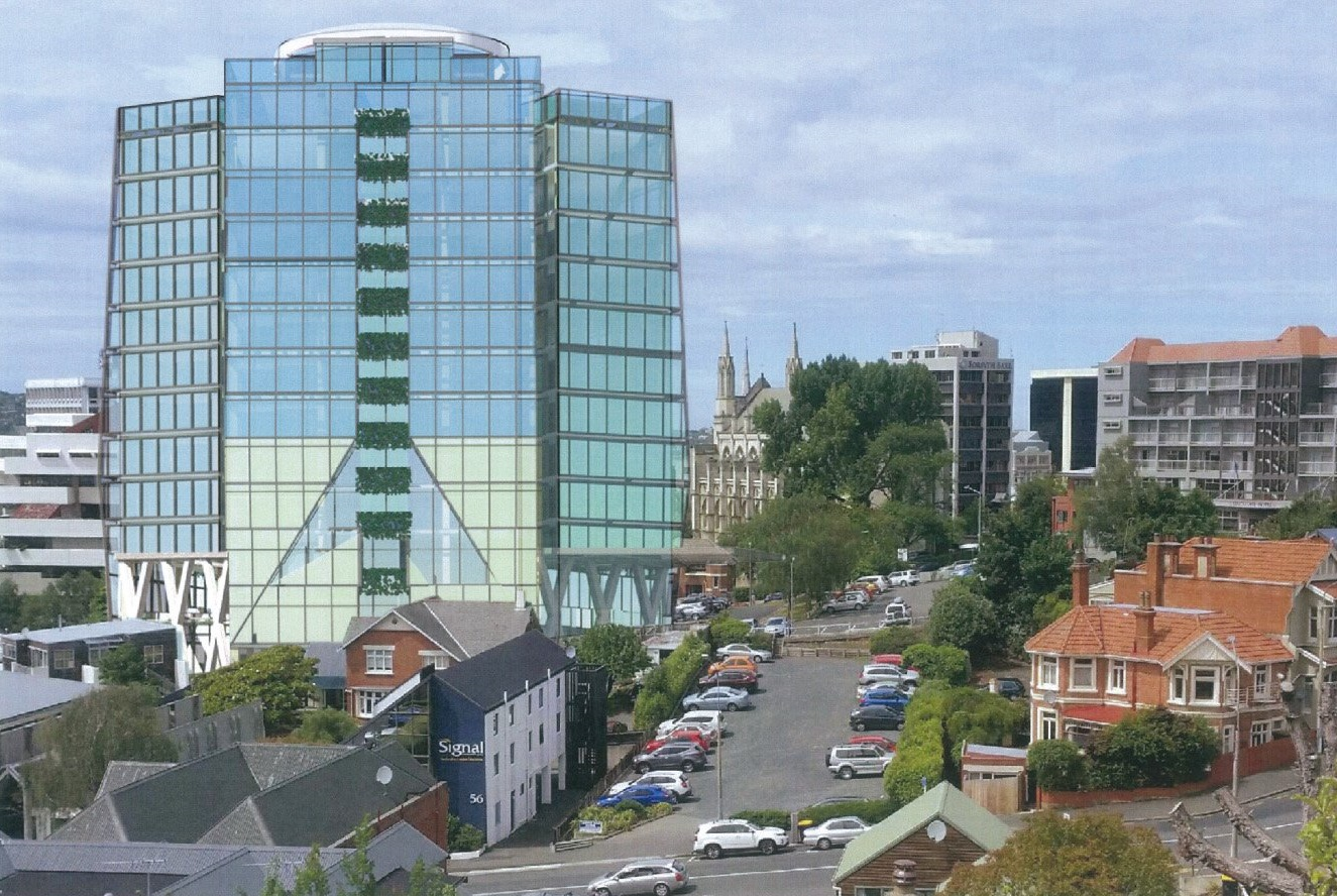 A planning report has advised consent for a five-star hotel be decline due to the building's...