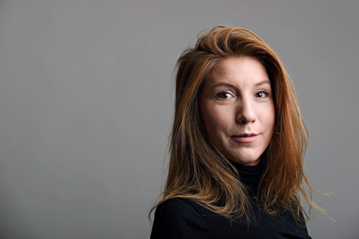 The body has been confirmed as that of Swedish journalist Kim Wall. Photo Reuters