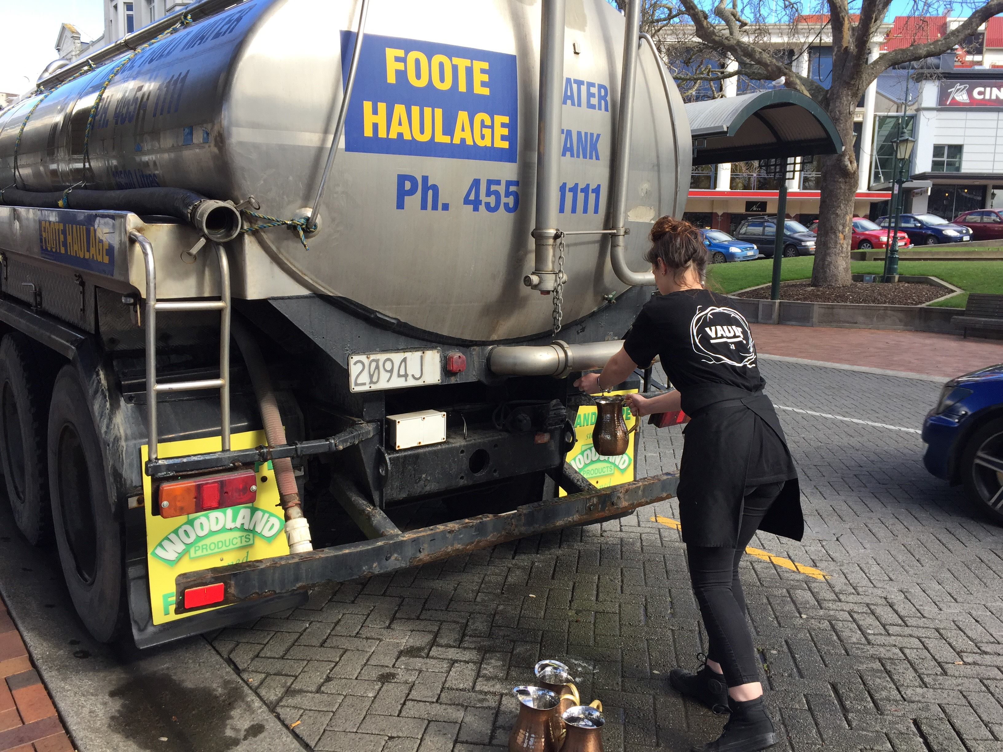 Find a water tanker near you